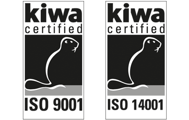 Sekisui Eslon BV is ISO9001 and ISO14001 certified.